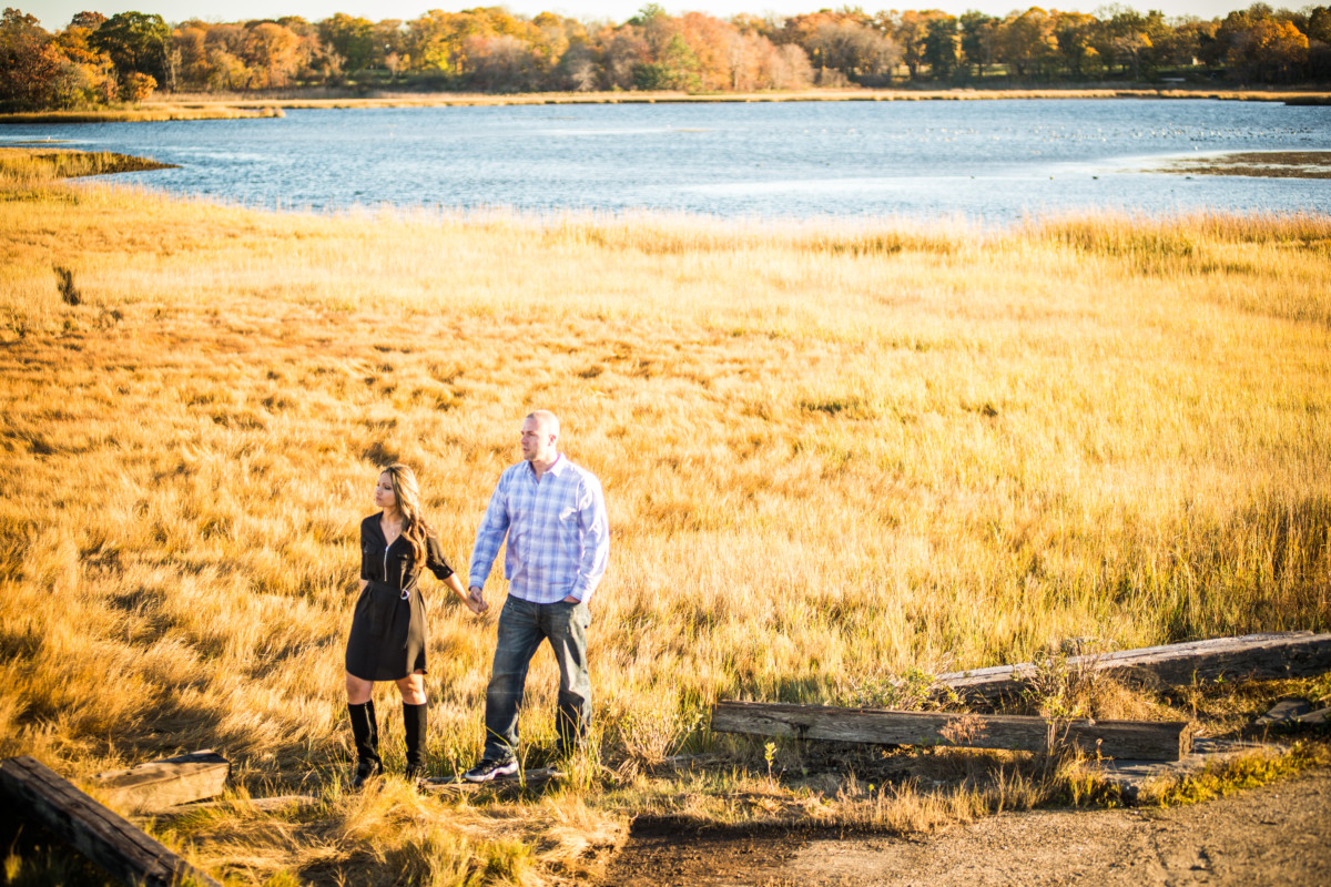 Alisha and Ian | Colt State Park Engagement | Blueflash Photography