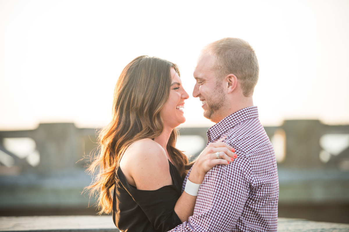 Nicole and Steve | Colt State Park Proposal | Blueflash Photography