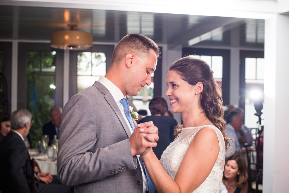 Carey and Adam | Waterman Grille Wedding | Blueflash Photography