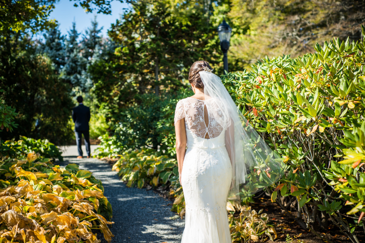 Chiara and James | The Chanler at Cliffwalk Wedding | Blueflash Photography