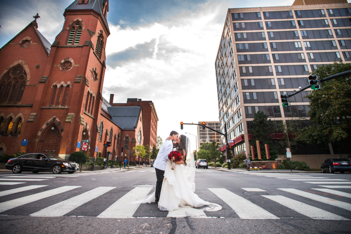 Gabriella and Patrick | Providence Public Library Wedding | Blueflash Photography