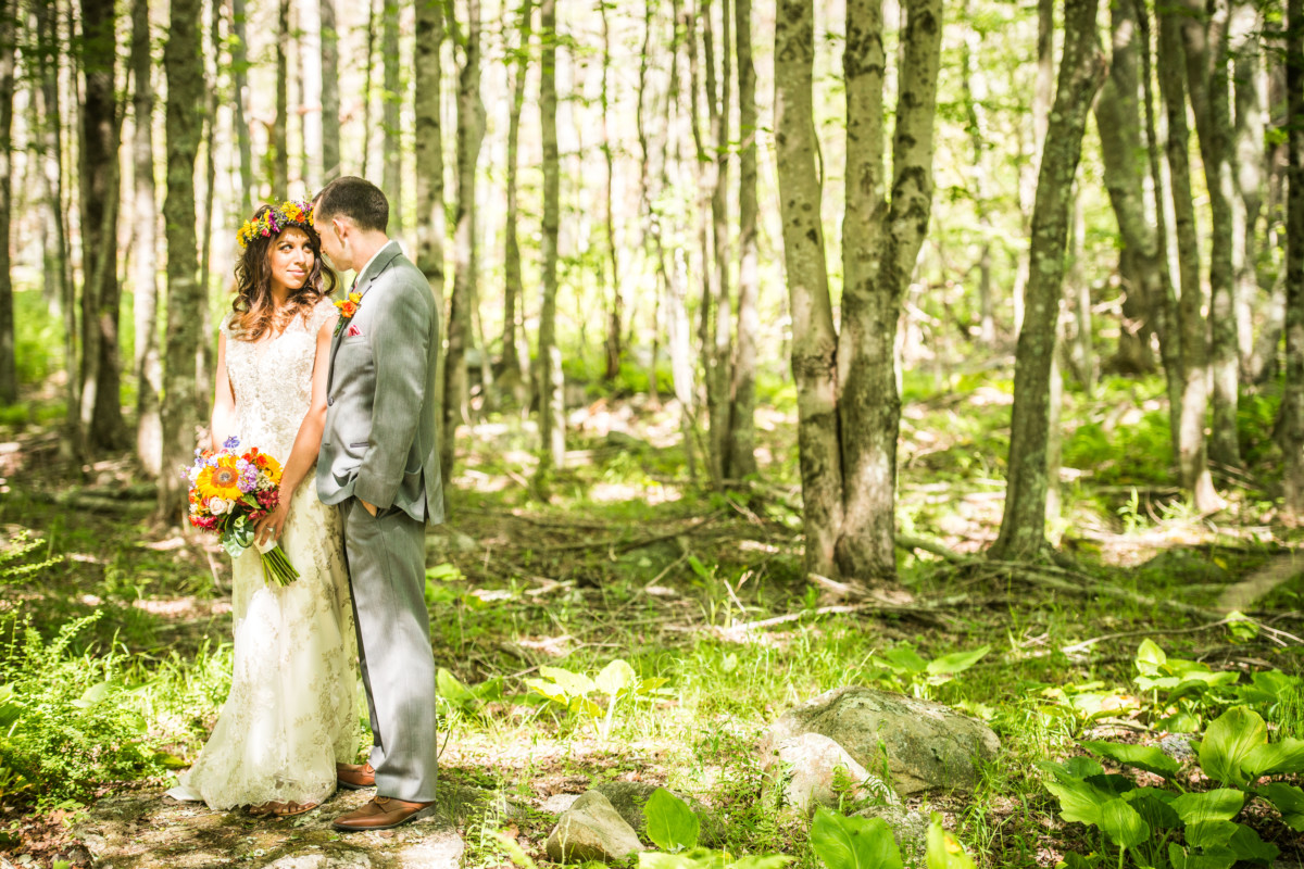Hillary and Ron | Whispering Pines Wedding | Blueflash Photography