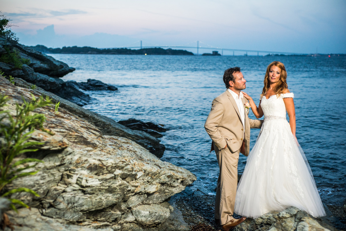 Jeanette and Joshua | Castle Hill Inn Wedding | Blueflash Photography