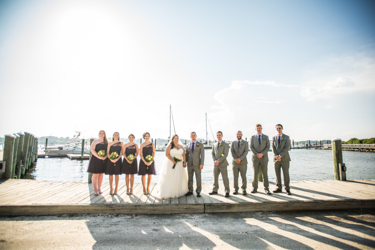Jenna and Jay | Bristol Harbor Inn Wedding | Blueflash Photography