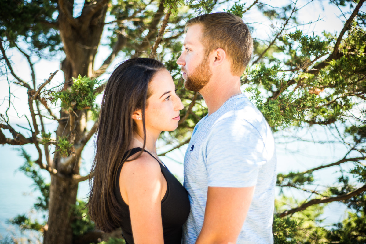 Jessica and Jared | Newport RI Engagement | Blueflash Photography