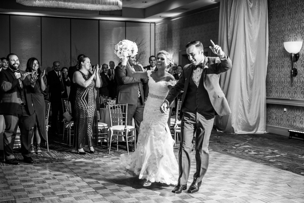 Katie and Anthony | Providence Marriot Wedding | Blueflash Photography
