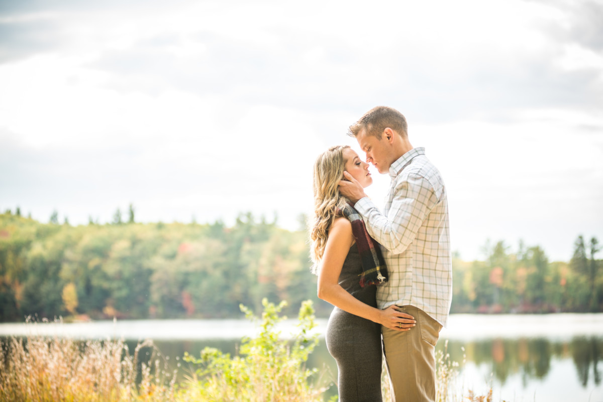 Kelly and John | New Hampshire Engagement Session | Blueflash Photography