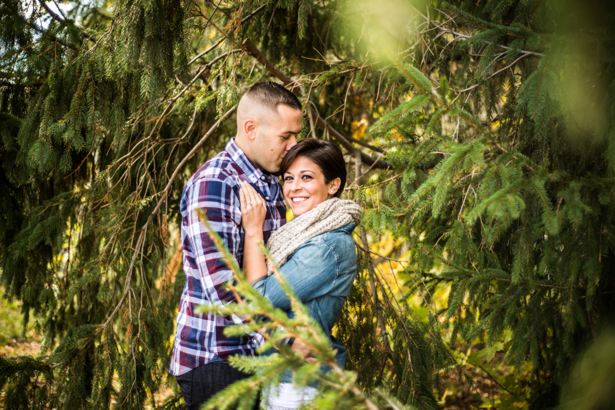 Kristen and Stephen | Barden Orchard | Blueflash Photography