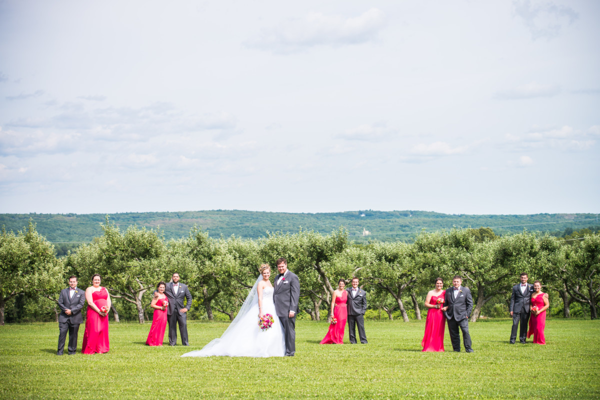 Laura and Tom | Allen Hill Tree Farm Wedding | Blueflash Photography