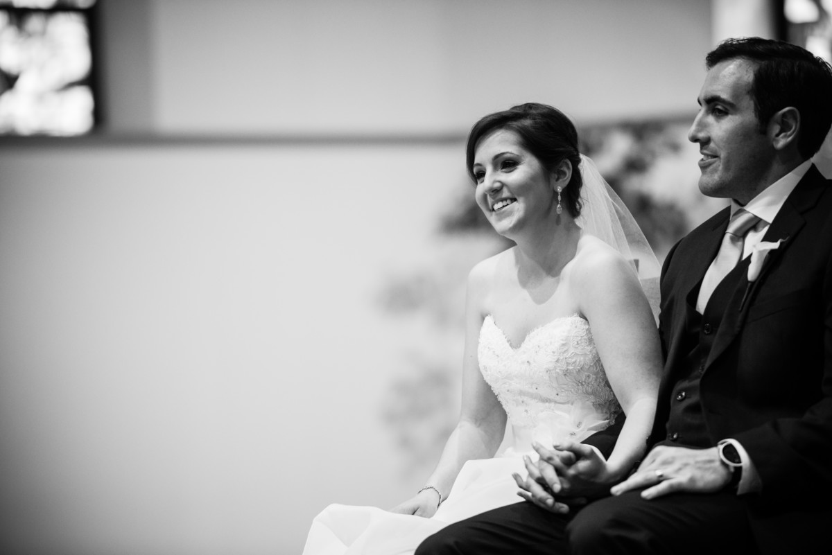 Lauren and Jimmy | Wedding at the Providence Biltmore | Bride and groom candid