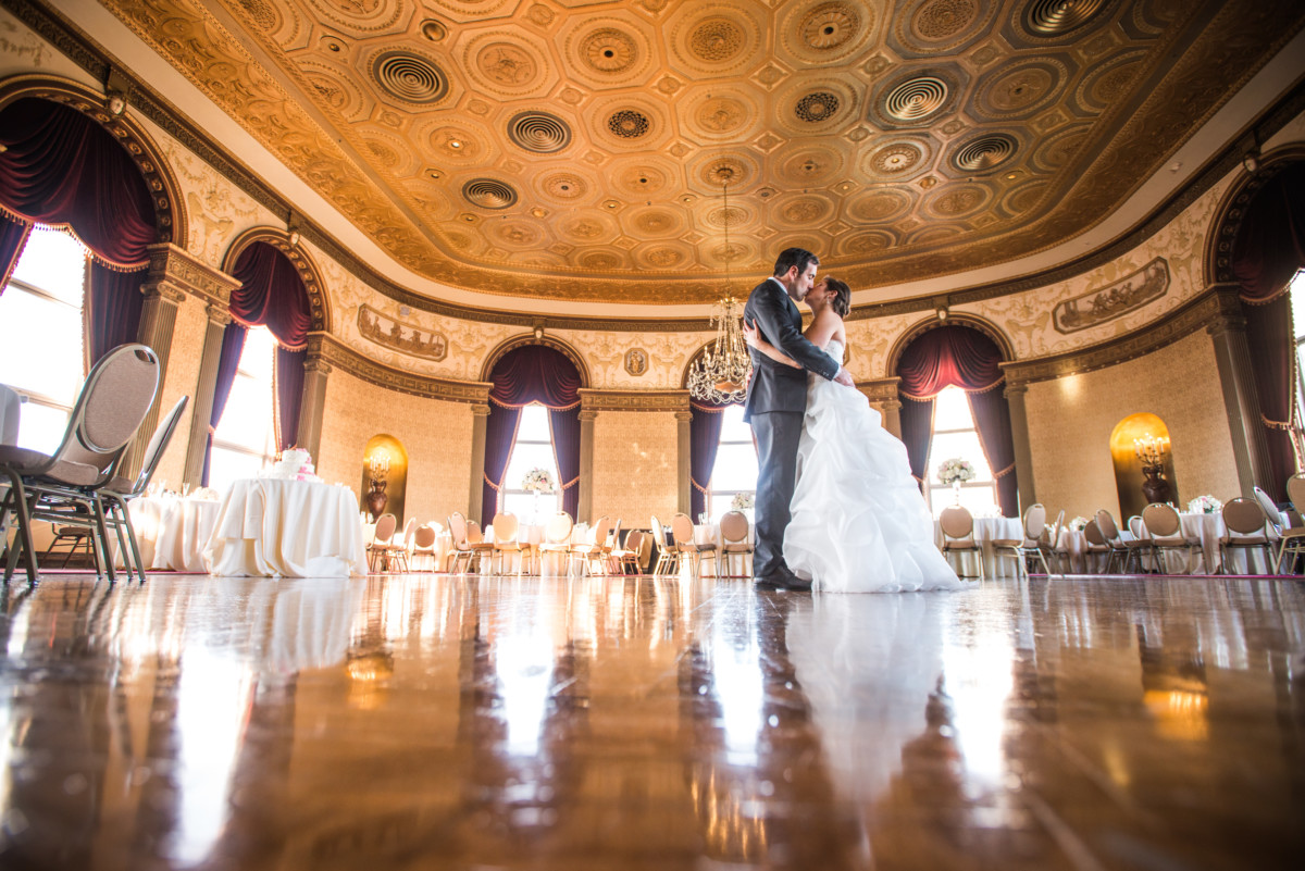 Lauren and Jimmy | Wedding at the Providence Biltmore | Grand Ballroom