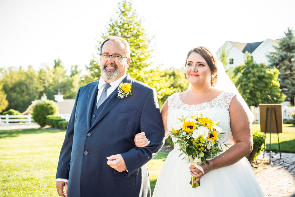 Lindsey and Kyle |  Wedding at Five Bridge Inn  | Blueflash Photography