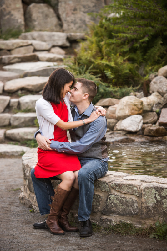 Maita and Matt | Borderland State Park Engagement | Blueflash Photography