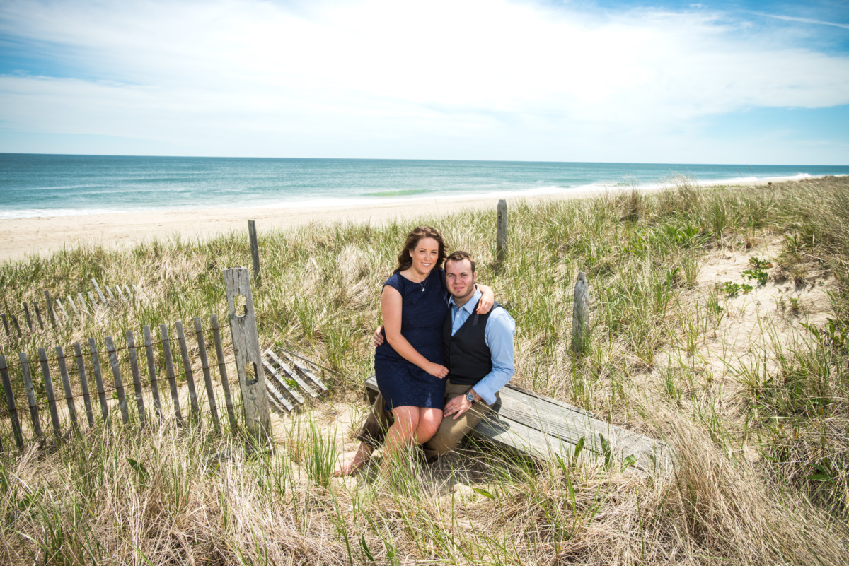 Maureen and Matt | Nantucket Engagement Session