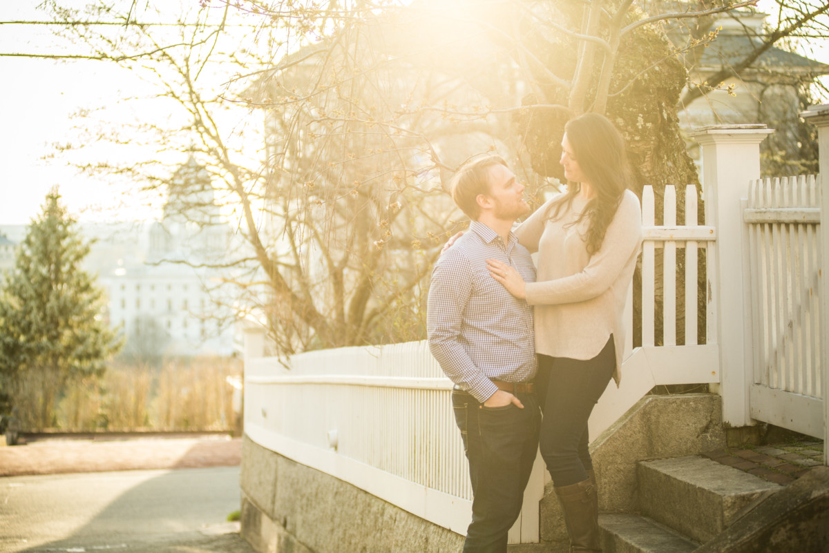 Morgan and AJ | Prospect Park Engagement
