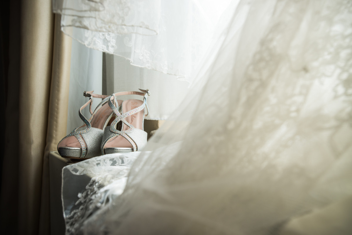 Providence Biltmore Wedding | Bridal detail - shoes