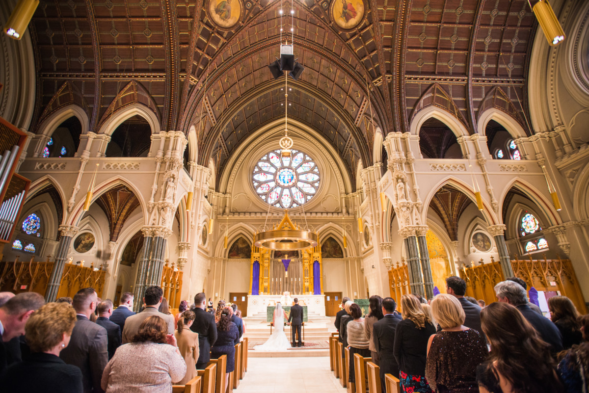 Providence Biltmore Wedding | The Cathedral of Saints Peter and Paul