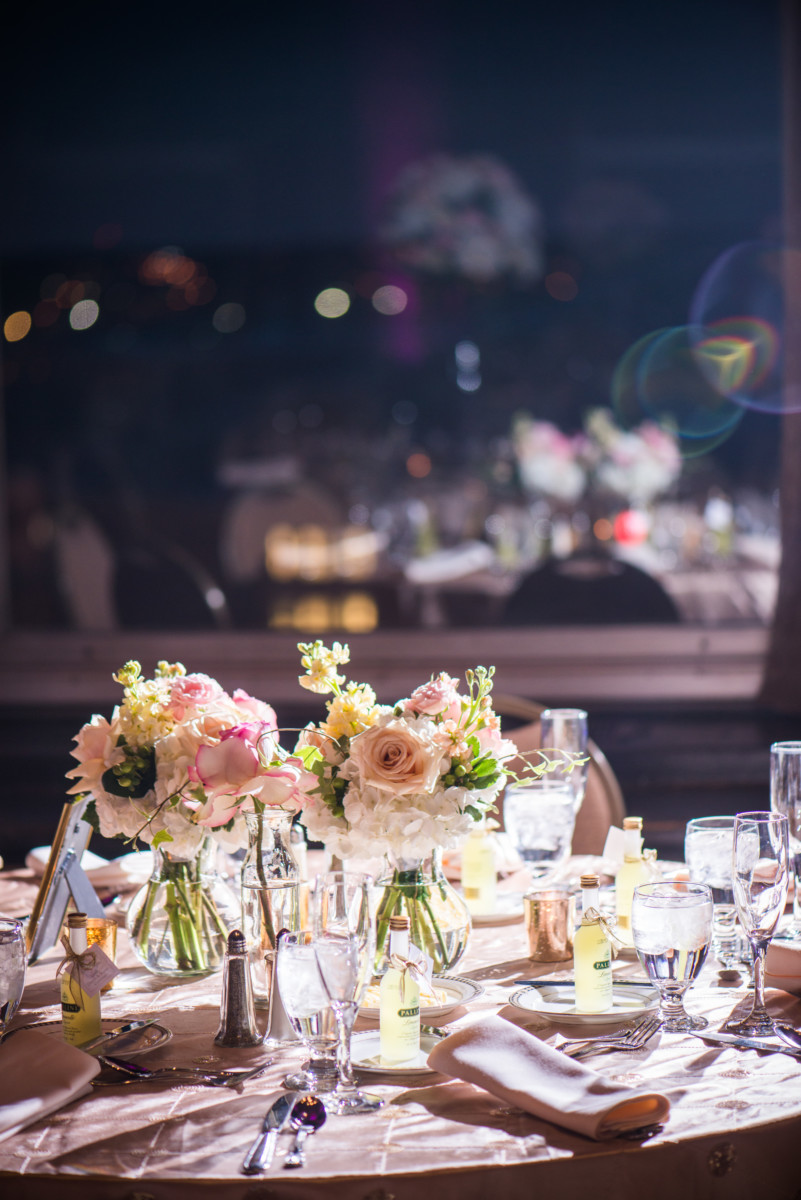 Providence Biltmore Wedding | Table and floral detail