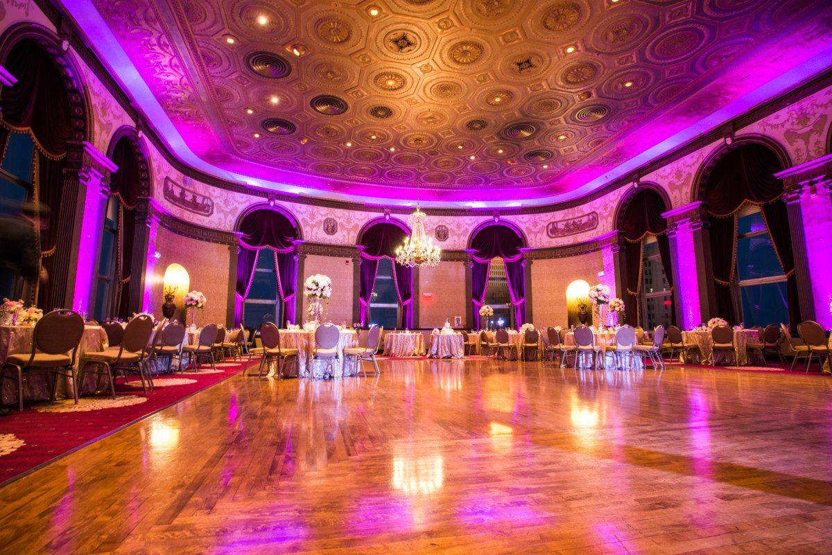 Providence Biltmore Wedding | Wedding reception layout
