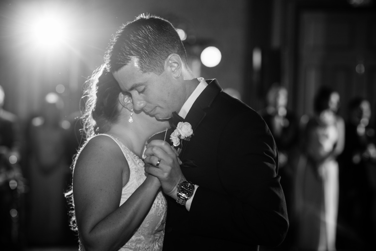 Providence Biltmore Wedding | Bride and groom first dance