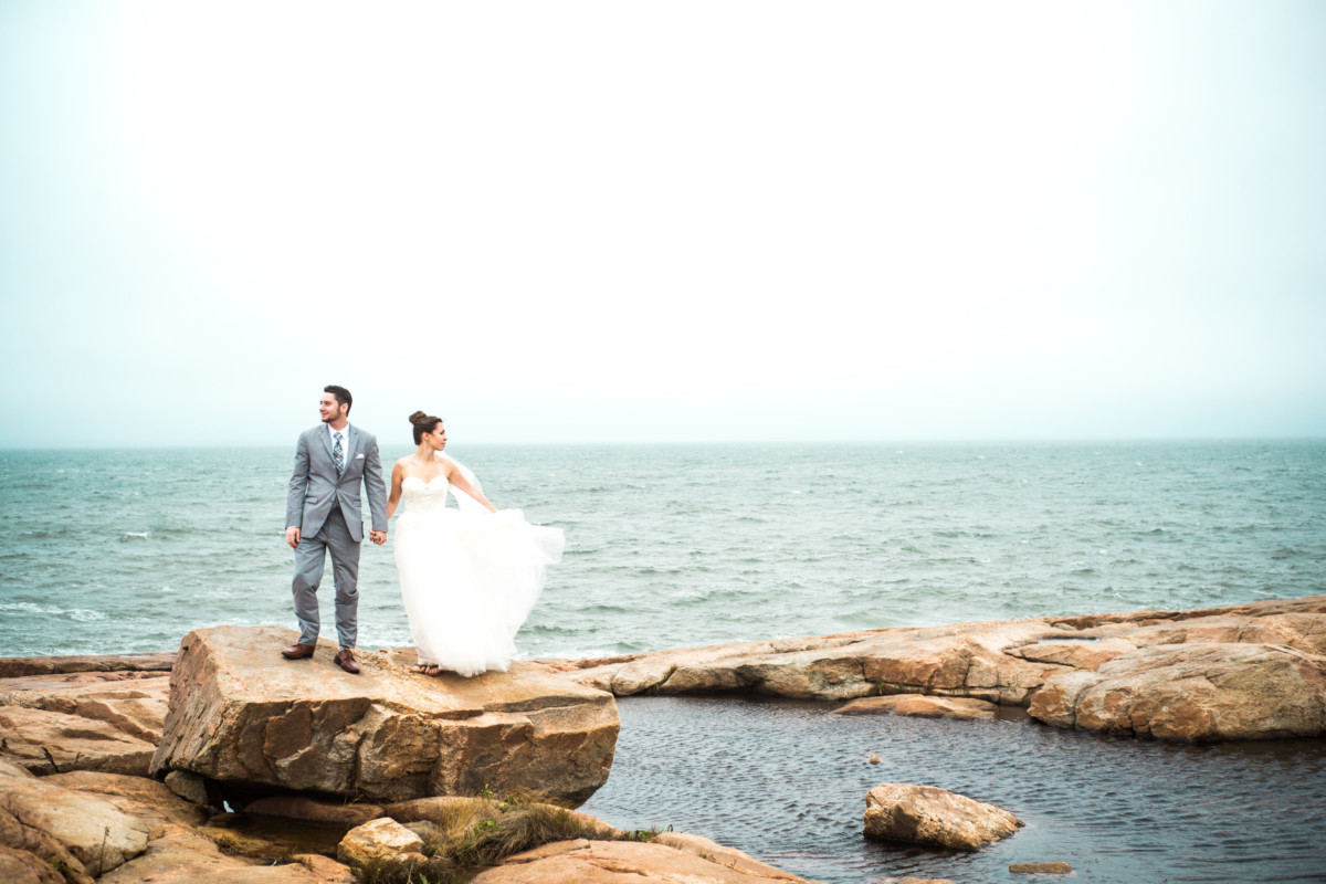 Samantha and Brian | The Narragansett Towers Wedding | Blueflash