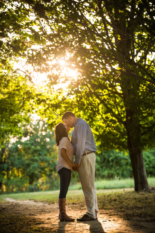Sara and Scott | Chase Farm Engagement | Blueflash Photography